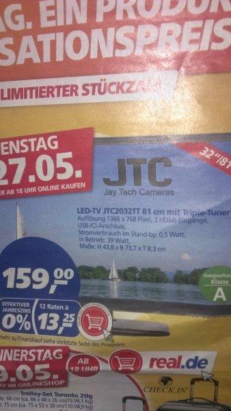@REAL(off- und später auch On-line) LED TV JTC 2032TT(nur Di. 27.05.2014)