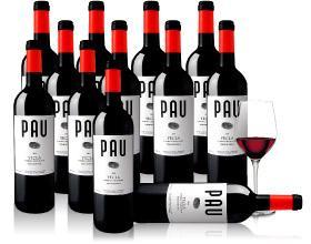 12 Flaschen Rotwein (PauTinto-Monastrell) bei vinos.de für 35€ (für Neukunden nur 30€) inkl. Versand