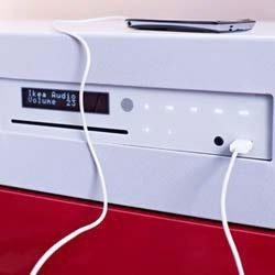 IKEA UPPLEVA-2.1-Soundsystem mit Blu-Ray-Player + 5 Jahre Garantie in hellgrau/schwarz