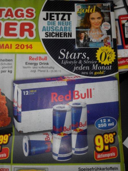 NETTO ohne Hund - RED BULL 12x 250ml für 9,88 € am Samstag 31.05.2014