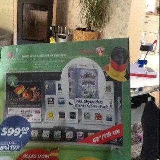 LG 47LB630V 119 cm (47 Zoll) LED-Backlight-Fernseher, EEK A+ (Full HD, 500Hz MCI, DVB-T/C/S, CI+, Wireless-LAN, Smart TV) silber Ab Montag bei Real (Lokal?) Dudweiler