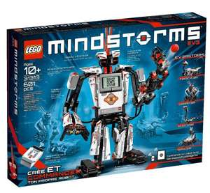 [Amazon.co.uk] Lego Mindstorms 31313 - Mindstorms EV3 für £205.61 ~ 253,89€