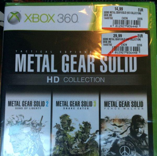 [Lokal] Metal Gear HD Collection Media Markt Chemnitz Sachsen Allee