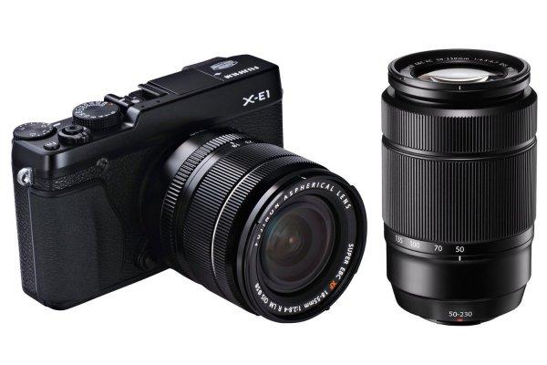 Fujifilm X-E1 Doppelzoom-Kit - Fujinon XF18-55mm F2.8-4 / XC50-230mm F4.5-6.7 @ Amazon.de EUR 700,42€ statt 749€