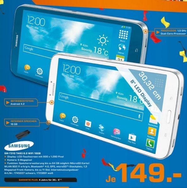 Samsung Galaxy Tab 3 (8.0) 16GB WiFi Lokal [Saturn Paderborn]