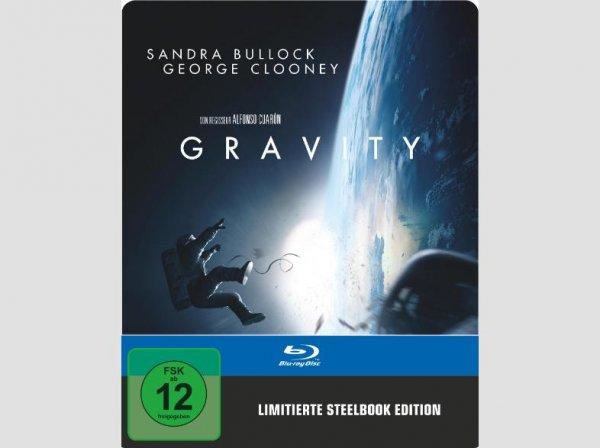 Gravity Blu-Ray Steelbook