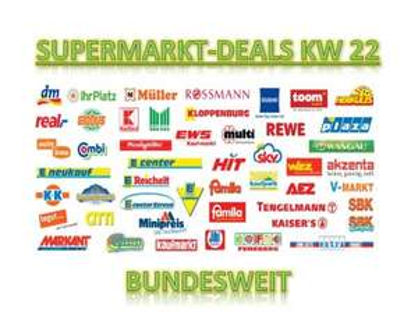 [BUNDESWEIT] Alle Supermarkt Deals KW22/2014 (Angebote + Coupons)
