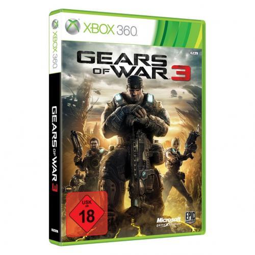 Gears of War 3 [Xbox360] inkl Versand für 56,90€ vorbestellen