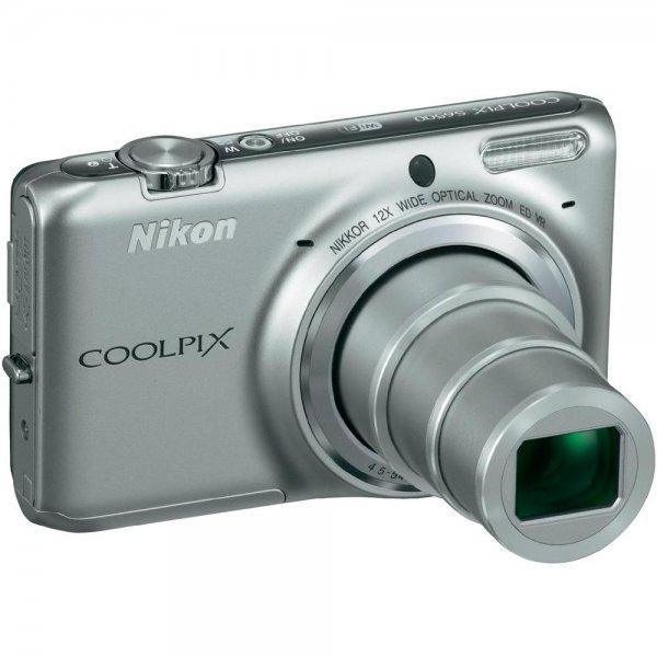 Nikon Coolpix S6500,Silber,inkl. Tasche und SDHC 8GB - [LOKAL]->Online bestellen -->Abholung in Filiale Düsseldorf