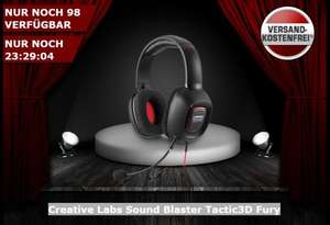 Creative Labs Sound Blaster Tactic3D Fury Headset @one.de
