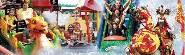 Eintrittskarte für den Freizeitpark Schloss Thurn inkl. 10 € Verzehrgutschein