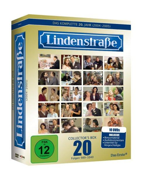 Lindenstraße - Collector's Box 20 (im Gold-Schuber inkl. Audiokommentare) [10 DVDs] für 18,97€ @ Amazon.de