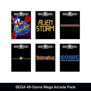 SEGA 48-Game Mega Arcade Pack [Steam] für 3,64€ @Amazon.com