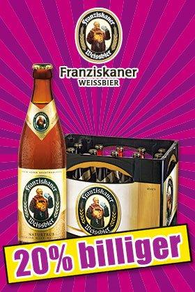 Franziskaner Weizen bei Norma (offline)