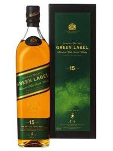 Johnny Walker Green Label 1,0l bei Heinemann Duty-Free-Shops für € 30.90