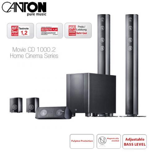 Canton Movie CD 1000.2 5.1-Boxenset @ iBOOD für 458,90 Euro