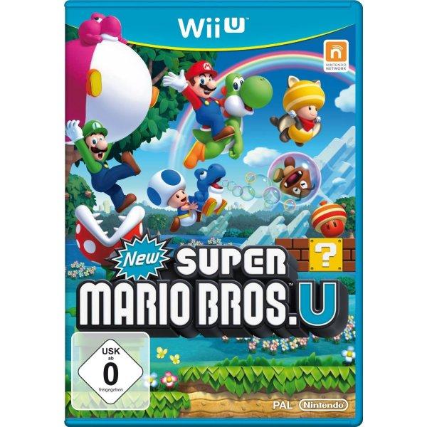 New Super Mario Bros. U - Nintendo Wii U für 27,67€ bei amazon.de !!