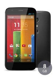 Sparhandy@ Flat M Internet o2 + Motorola Moto G 8GB für 4,95€ / Monat