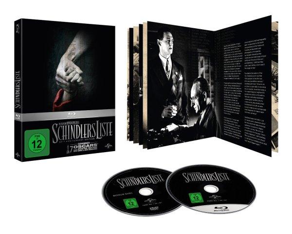 [amazon.de] Schindlers Liste - 20th Anniversary Edition [Blu-ray] [Limited Edition] für 12,43 €(Prime) oder mit Landkarte für 13,78 €