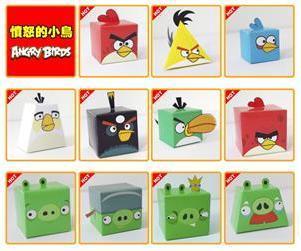 11 Stk Angry Birds Papiermodelle um 2.90 EUR inkl. Versand bei FocalPrice