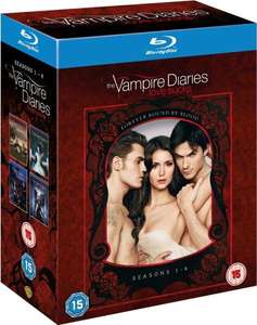 [Blu-Ray] Vampire Diaries Season 1-4 Box (OT) bei zavvi