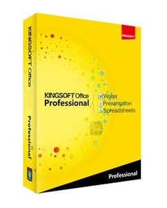 Kingsoft Office Suite Professional 2013  - Presentation (PowerPoint), Spreadsheets (Excel), Writer (Word), PDF-Konverter für 0€ (statt 51€)
