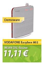 W-LAN DSL Router Vodafone Easybox 802 für  10,44 € @ MP Oha