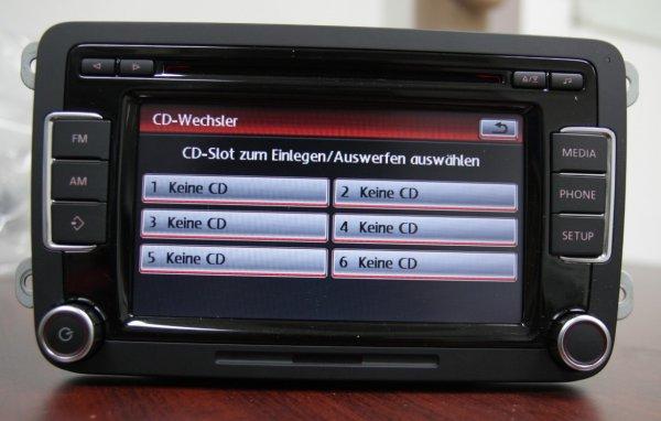 VW Radio RCD 510 RDS  BOSCH Made in Portugal