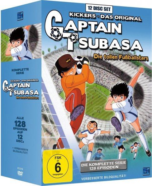 Captain Tsubasa: Die tollen Fußballstars - Die komplette Serie [12 DVDs] - 39,97 €