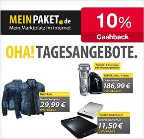 MeinPaket – bis zu 10% Cashback fürs Freunde werben von Qipu