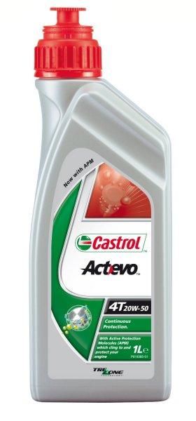 [Amazon Plus-Produkt] Castrol Actevo 4T 20W-50 1L Motorrad-Motoröl, mineral.