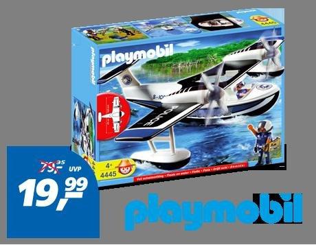 4445 Polizei Wasserflugzeug für 19,99 €