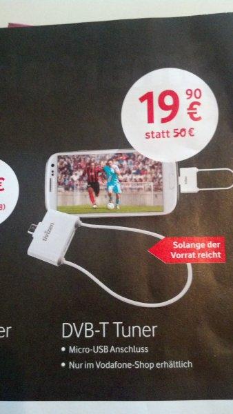 ICUBE Tivizen Pico Android DVB-T Empfänger mit micro-USB - white/ offline Vodafone Shop