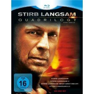 Stirb langsam - Quadrilogy Blu-Ray für 16,66 (ab 17 Euro VSK-Frei ansonsten plus 2,99 Versand)
