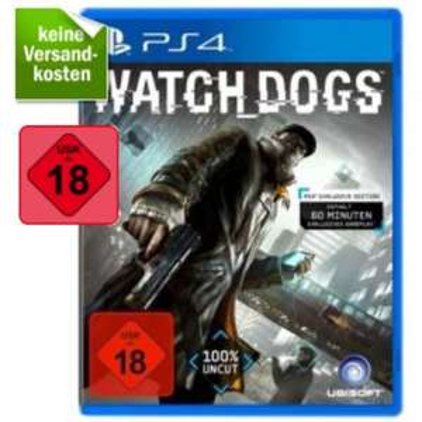 PS4 - Watch Dogs Bonus Edition - redcoon