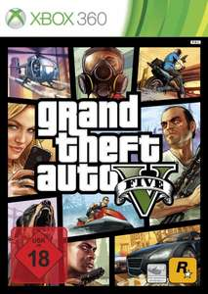 [Saturn & Mediamarkt AT] - GTA 5 (Uncut) für die Xbox360