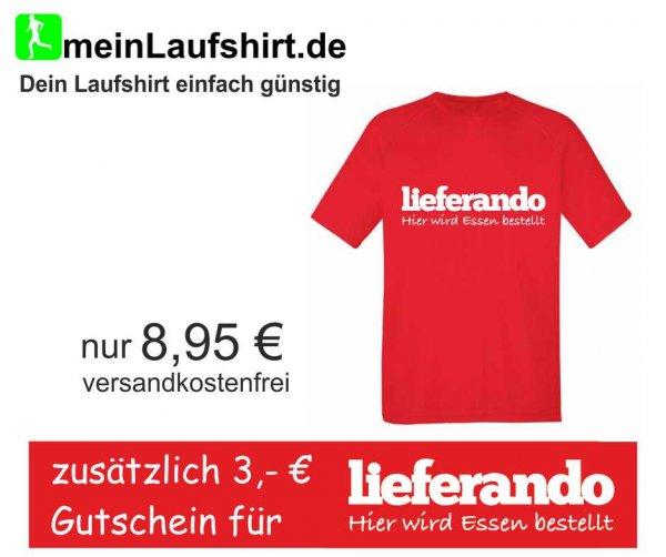 Gutes Laufshirt für 8,95€ + 3€ Lieferando Gutschein -VSK-Frei-
