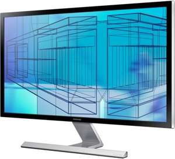 """Samsung 4K UHD 28"""" Monitor mit 60Hz U28D590P für 569,59 € (vsk-frei)"""