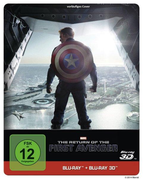 """""""Captain America: The Return of the First Avenger"""" 3D Steelbook für 21,99€ vorbestellen"""