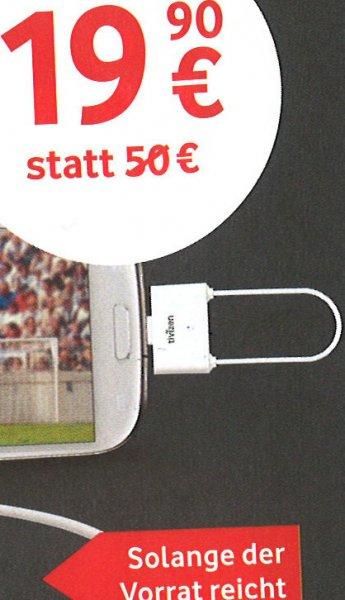 iCUBE Tivizen Pico Android DVB-T Tuner micro-USB @Vodafone-Shops
