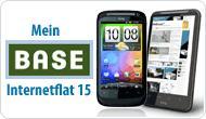 Base Internet Flat + Smartphone für 11,- / 15,-