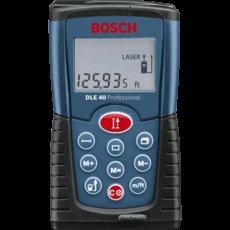 Bosch (blau) Laser-Entfernungsmesser DLE 40 für 56,90€ inkl. VSK @ZackZack