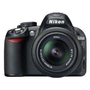 Nikon D3100 Kit inkl. AF-S DX 18-55 VR Objektiv 439 Euro @ Amazon