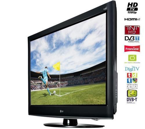 """94cm (37"""") LG LCD-TV 37LD420 FULL-HD Schwarz für 339 Euro mit Qipu evtl zusätzlich 4%"""