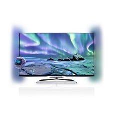 """Philips 42"""" Ultraflacher 3D Smart LED-Fernseher 42PFL5038K mit 2-seitigem Ambilight und Pixel Plus HD"""