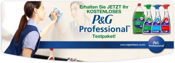 [Wieder da] Kostenloses Testpaket von P&G Professional