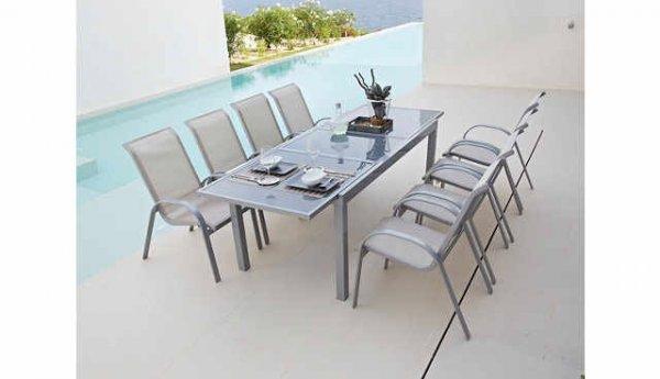 Merxx Amalfi 9-teiliges Gartenmöbel-Set bei Hagebaumarkt (online)