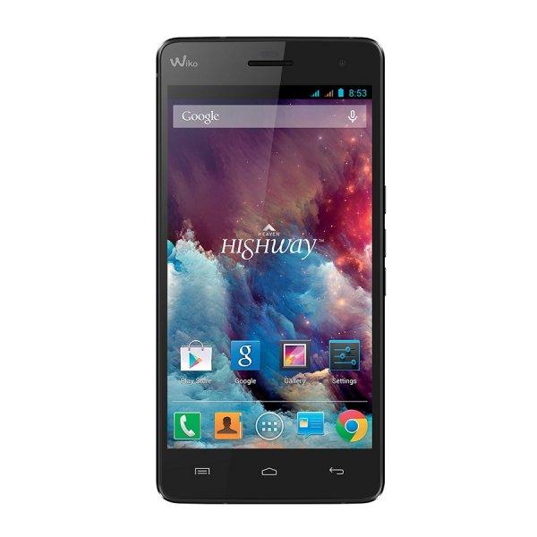 Wiko Highway - Schlankes Dual-Sim Smartphone mit Octacore Prozessor (8x2GHz!)