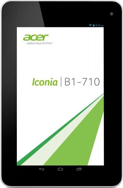 Acer Iconia B1-710 17,8 cm (7 Zoll) 1,2GHz, 1GB RAM, 16GB SSD für 80€ bei SATURN WIESBADEN (kostenloser Inlandsversand)