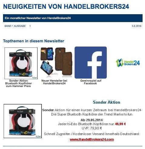 Bluetooth Headset hi-Edo für 49,99€ anstatt 79,99€ und versandkostenfrei